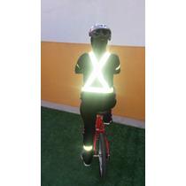 Arnés Chaleco Reflejante Ciclista Motociclista Vial