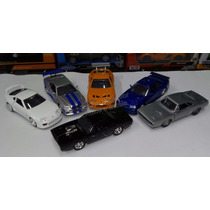 1:32 Coleccion 6 Pzs Rapido Y Furioso Jada Display