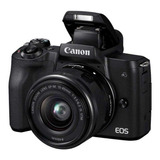 Canon  Eos M50 15-45mm Is Stm Kit Sin Espejo Negra