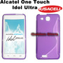 Alcatel One Touch Idol Ultra 6033 Funda Silicon Hibrido Slim