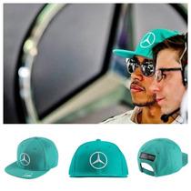 Gorra Flat Mercedes Petronas Gran Premio De Malasia