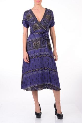 Vestido Azul Basics Collection En Venta En Otra Colonia