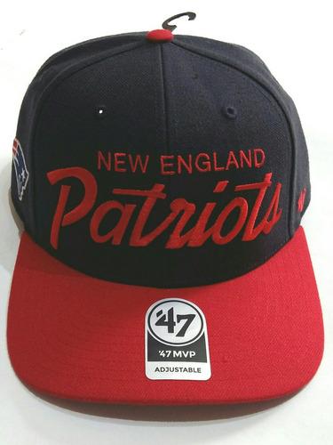 Gorra Patriotas De Nueva Inglaterra  47 Brand Original f0ec2684e7a