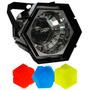 Luz Disco Estrobo Hexagonal Importados Efecto Camara Lenta