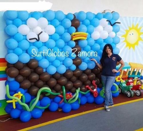 Globo linking 12 en colores oferta 46 darsc precio d for Decoracion con globos precios