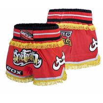 Shorts Para Muay Thai R4 Marca Rdx Distribuidor Oficial