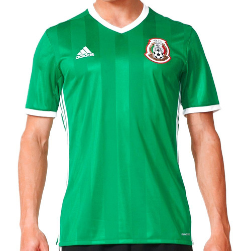 ae5ccbba5948f Playera Jersey Seleccion De Mexico 16 Hombre adidas Ac2723
