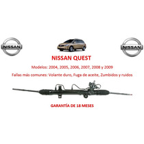 Caja Direccion Hidraulica Cremallera Nissan Quest 2005