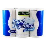 Papel Higienico 200hd My Brand 12 Rollos