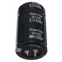 Supercapacitor Ultra Capacitor 500 Faradios 2.7 V 2 Piezas