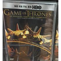 Game Of Thrones Temporada 2, Juego De Tronos Dvd