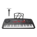 Teclado Musical Con 54 Teclas Y Micrófono Kaiser 5470