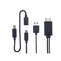 Cable Adaptador Mhl Usb 2.0 A Hdmi Para Conectar Cel. A Tv