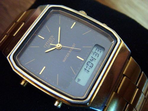 25ef6cb60d5 Reloj Citizen Ana-digi. Quartz. Vintage. Colección 80s. Precio    900 Ver  en MercadoLibre