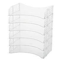 Bandeja Officemax Plástico Letter Borrar 6 Pack