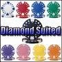 Poker Rollito De 25 Fichas Pro 12.5 Grs Mod Diamond Suited
