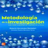 Metodología De La Investigación Ed. 2018 Hernández Sampieri