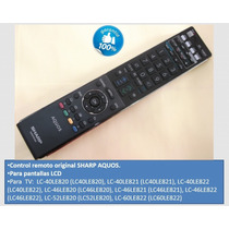 Control Remoto Sharp Aquos Para Tv Plasma Lcd Sharp