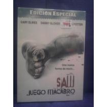 Dvd Saw 1 Juego Del Miedo Terror Killer Edición Especial