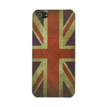 Regear Bandera Inglés Británico Caso Del Reino Unido Para
