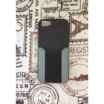 Coach Funda Negra Iphone 5-5s, Original Con Empaque
