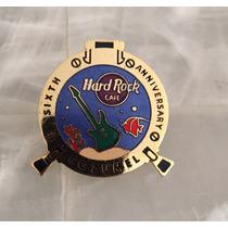 Pin Aniversario Hard Rock Cozumel, Edición 1000 Unidades!!