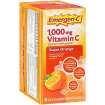 Emergen-c De Super Naranja 1000 Mg De Vitamina C 0,32 Onza 3