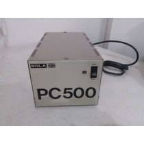 Regulador De Voltaje Sola Basic Pc-500
