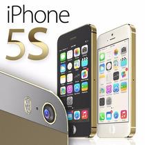 Iphone 5s 16gb En Caja Accesorios Desbloqueado Retina Huella