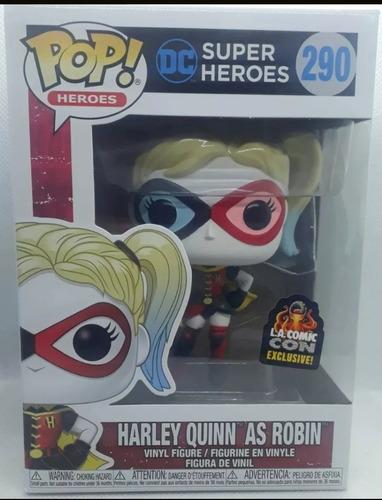 Funko Harley Queen As Robin Exclusivo Comic Con