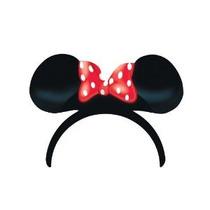4 Orejas De Minnie Mouse Del Lunar Del Arco Diadema