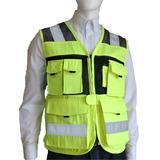 Chaleco Seguridad Reflejante Industrial Ranger