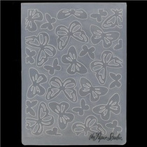 Scrapbook Folder Para Repujado Butterflies Cuttlebug Sizzix