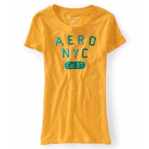 Blusa Aeropostale Estilo 5950 Amarilla
