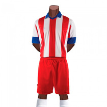 Uniforme Futbol Atletico Madrid Juvenil Short/medias Galgo