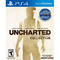 Uncharted: The Nathan Drake Collection - Ps4 [físico]
