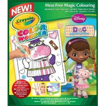 Crayola Color Wonder Colorear Pad Doc - Doctora Juguetes