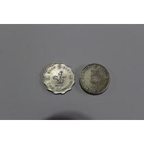Hong Kong. Dos Monedas De 2 Y 5 Dollars