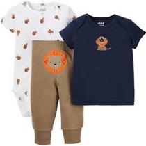 Conjunto Pañalero Pantalón Camisa Recien Nacido Envio Gratis