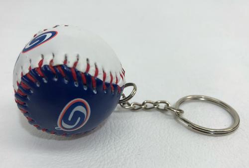 Llavero Con Forma De Pelota Beisbol Lmp Baseball Piel 41d0d14159d