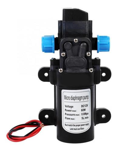 Bomba De Agua De Diafragma Portátil De 60w 5 L/min Dc 12 V