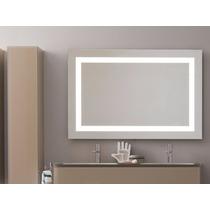 Espejo Decorativo Con Marco De Luz Led Infrarrojo 70x50cm