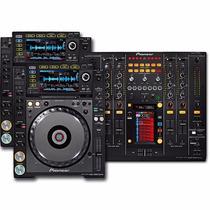 Paquete Pioneer Cdj2000 Nexus Y Pioneer Djm-900 Nexus