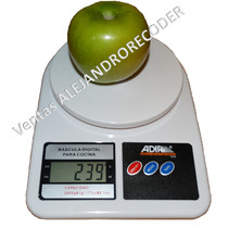 Bascula Digital De Cocina De 1gr A 5 Kg Con Lcd