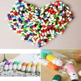 30 Píldoras Cápsulas Regalo Súper Kawaii Cartitas Detalle