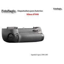 Empuñadura De Baterias Para Nikon D7000