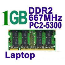 Remate Memoria Ram Ddr2 P/ Laptop Sodimm 1gb Pc2-5300 667mhz