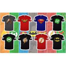 73bd7fd1464 Playera Batman Liga De La Justicia, Super Heroes 2017 en venta en ...