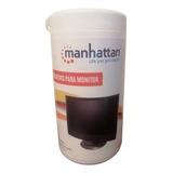 Toallas Humedas Manhattan Para Monitor Bote 50 Toallas