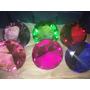 12 Pzas Figura Cristal Grande Diamante 8 Cm Azul Verde Rosa